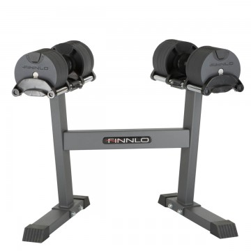 FINNLO by HAMMER Smartlock dumbbell set with rack