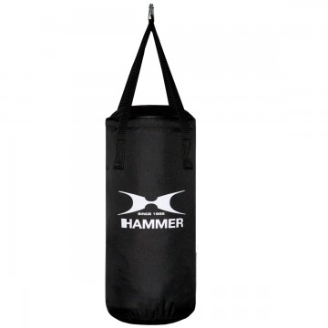 HAMMER BOXING Punching Bag Fit Black, 50cm