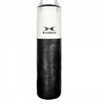 HAMMER BOXING Punching Bag premium White Kick
