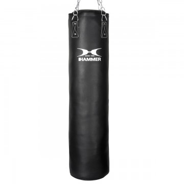 HAMMER BOXING Punching Bag Premium Black Kick