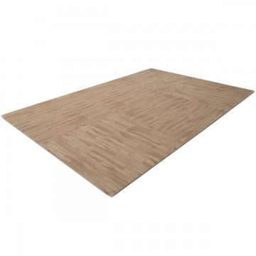 FINNLO by HAMMER Floor Mat with Wood Look (Puzzle Mat)