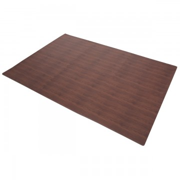 FINNLO by HAMMER floor Mat with Walnut Look (puzzle mat)