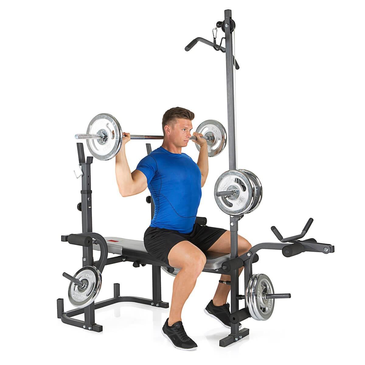 HAMMER Weight Bench Bermuda XT Pro