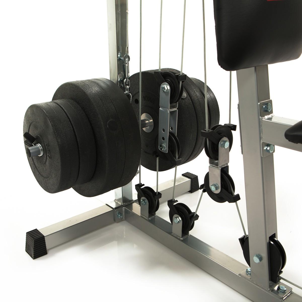 Rowing Machine For Sale >> HAMMER Multi Gym California XP