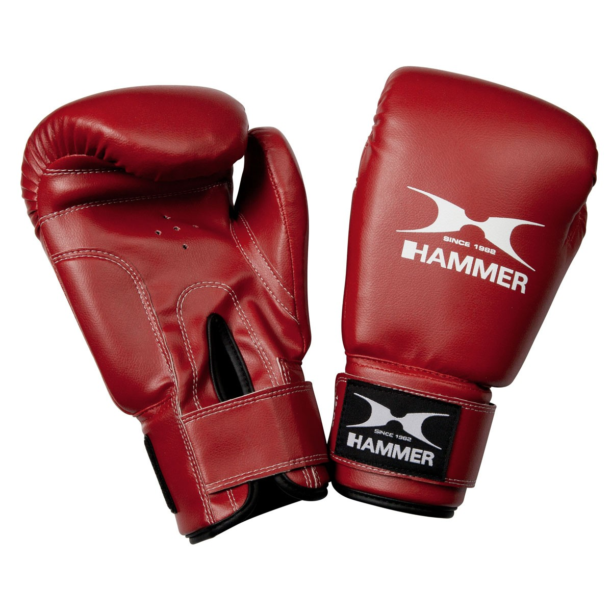 Buy HAMMER BOXING boxing gloves Fit red