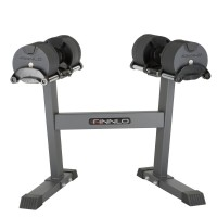 6772 FINNLO by HAMMER Smartlock dumbbell set with rack