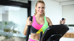 cross trainer workout fat-burn