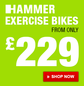 HAMMER Exercise Bikes from only 229