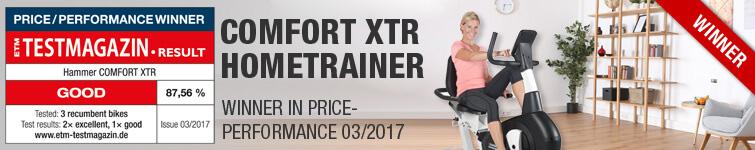 Comfort XTR winner
