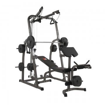 HAMMER Weight Bench Solid XP with 76 kg Dumbbell Set (Ø 30 mm)