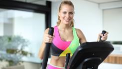 cross trainer workout fat-burn