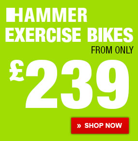 HAMMER Exercise Bikes from only 239